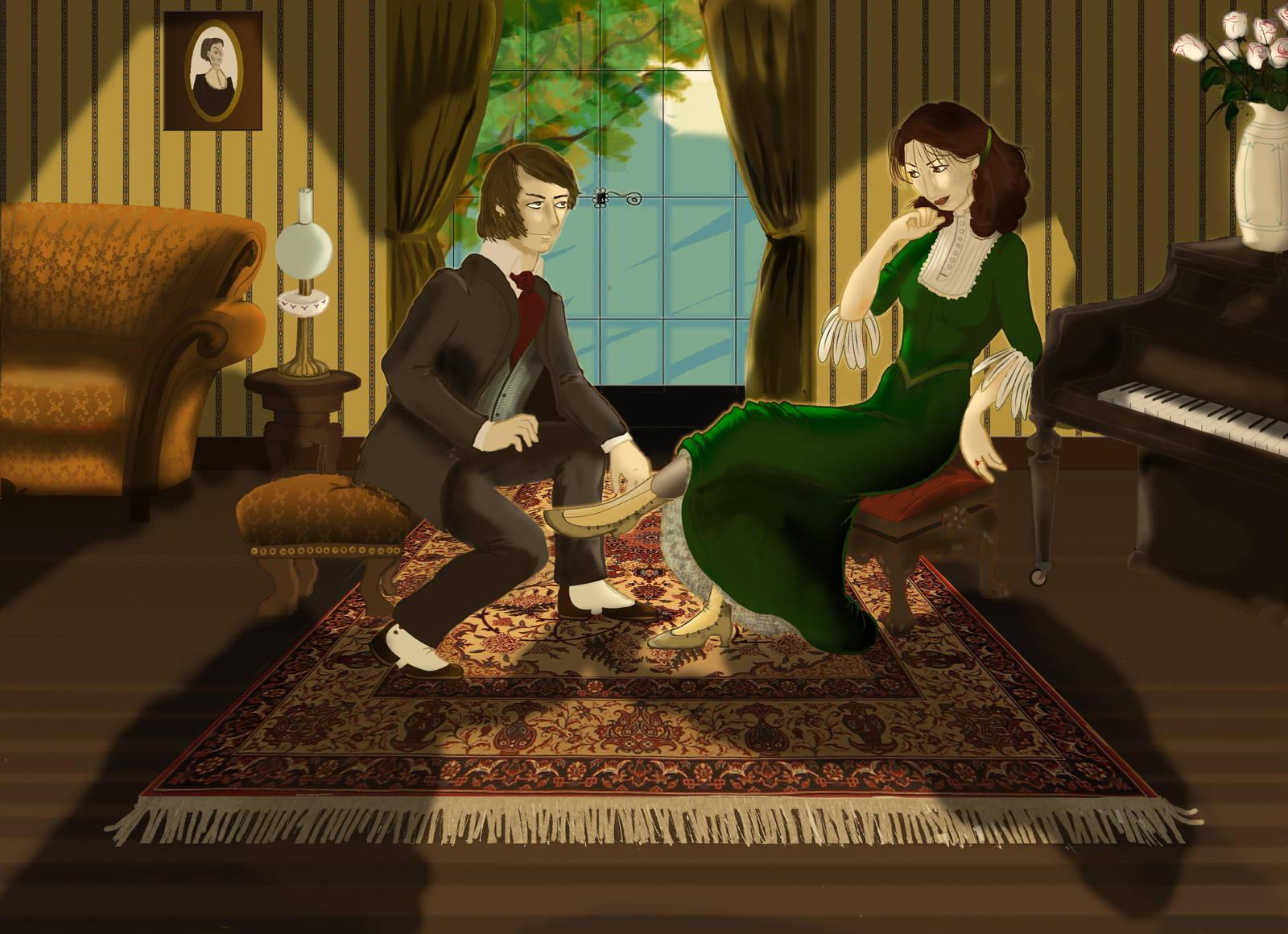 Vertov and Malinka by Elenaz