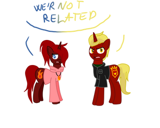 We're not related by DeadlyPonys
