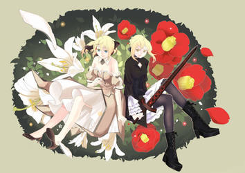 Saber Lily and Saber Alter by sychin0401