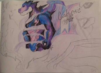 DragonTale #4 Galactic by RyuuDraws