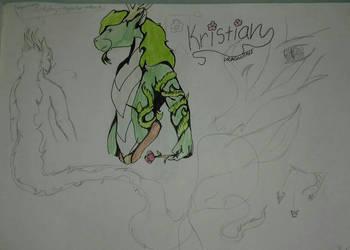 DragonTale #5 Kristian by RyuuDraws