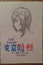 Tokyo Ghoul - Touka Kirishima by RyuuDraws