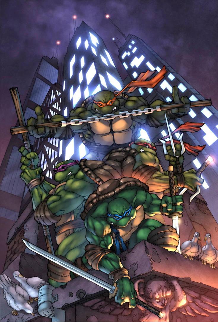 Turtle Power TMNT by LoganLee