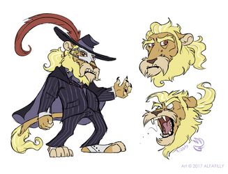 Lions and Operas and Fear, Oh My! by AlfaFilly