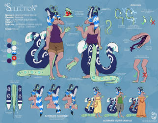 Kailani Reference Sheet by AlfaFilly