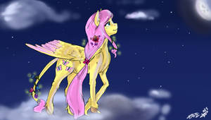 Fluttershy collab by MrsCurlyStyles