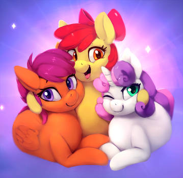 The Cutie Mark Crusaders by MrsCurlyStyles