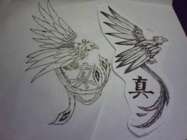 Phoenix tattoo by silentearsofhope