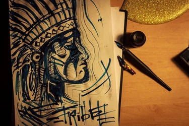 tumblr n200hffJdx1rjgosxo1 tribal stuff by Morday