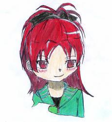 Kyoko Sakura by spiralmaestro