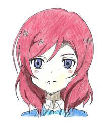 Maki Nishikino by spiralmaestro