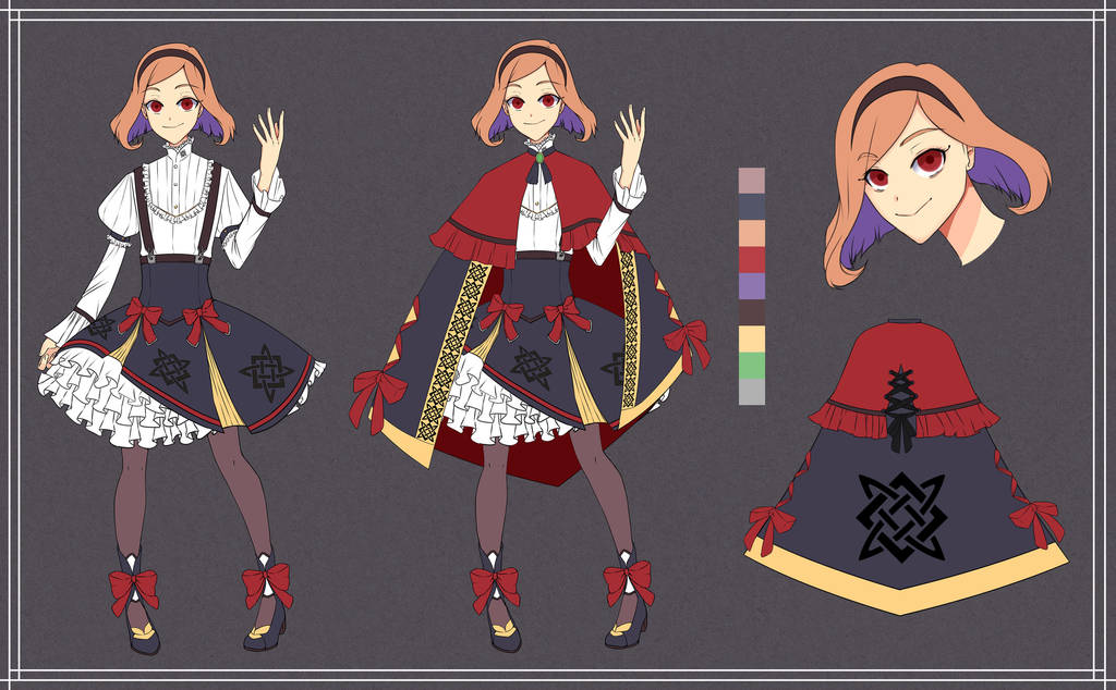 [CONTEST ENTRY] Character Design by RollingGiru
