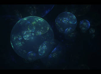 shiny spheres by greentunic