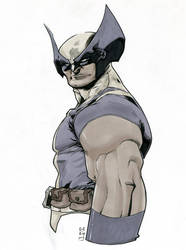 Wolverine Sketch by CREONfr