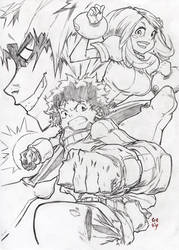 My Hero Academia by CREONfr