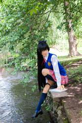 Best Schoolmate Hibiki by IchigoKitty