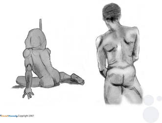 Life Drawing: Five and Ten by chris-fennell