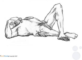 Life Drawing: Forty minutes 2 by chris-fennell