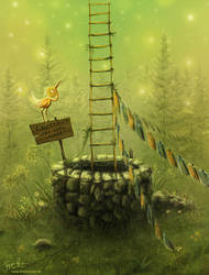 The Ladder, jerry8448 by BlackLanternPub