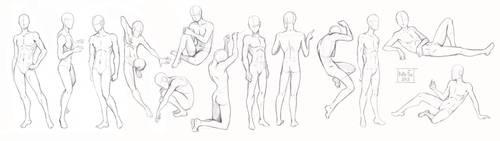 Pose study2 by Kate-FoX