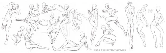 Pose study5 by Kate-FoX