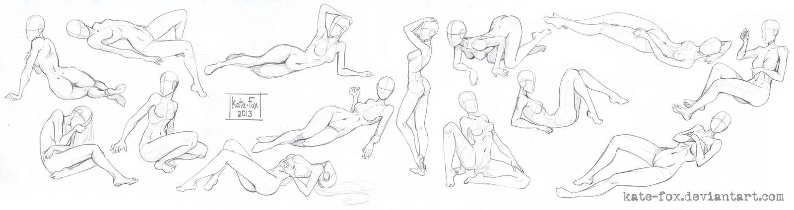 Pose study9 by Kate-FoX