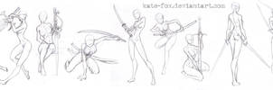 Pose study12 by Kate-FoX