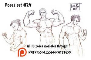 Pose study 24 by Kate-FoX