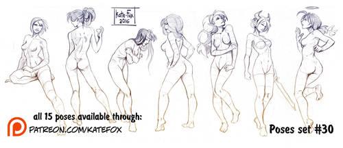 Pose study 30 by Kate-FoX