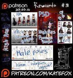 Patreon rewards #9 by Kate-FoX
