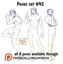 Pose study 45 by Kate-FoX