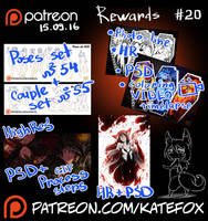 Patreon rewards #20 by Kate-FoX