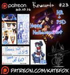 Patreon rewards #23 by Kate-FoX