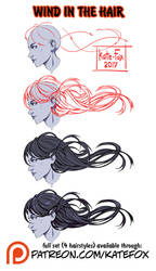 Wind in the hair ref set by Kate-FoX