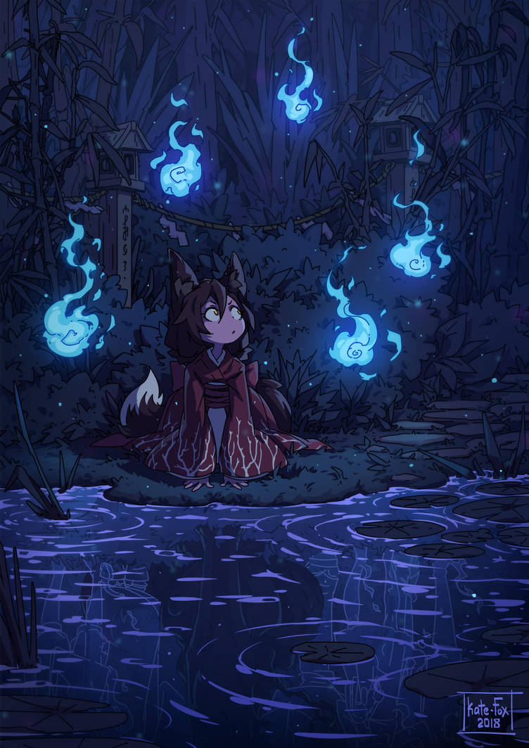 Will-o'-the-wisp by Kate-FoX