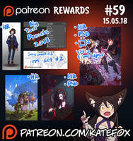 Patreon rewards #59 by Kate-FoX
