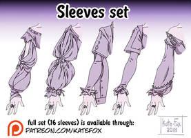 Sleeves set by Kate-FoX