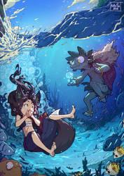 Underwater breathing by Kate-FoX