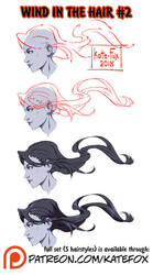 Wind in the hair ref set #2 by Kate-FoX