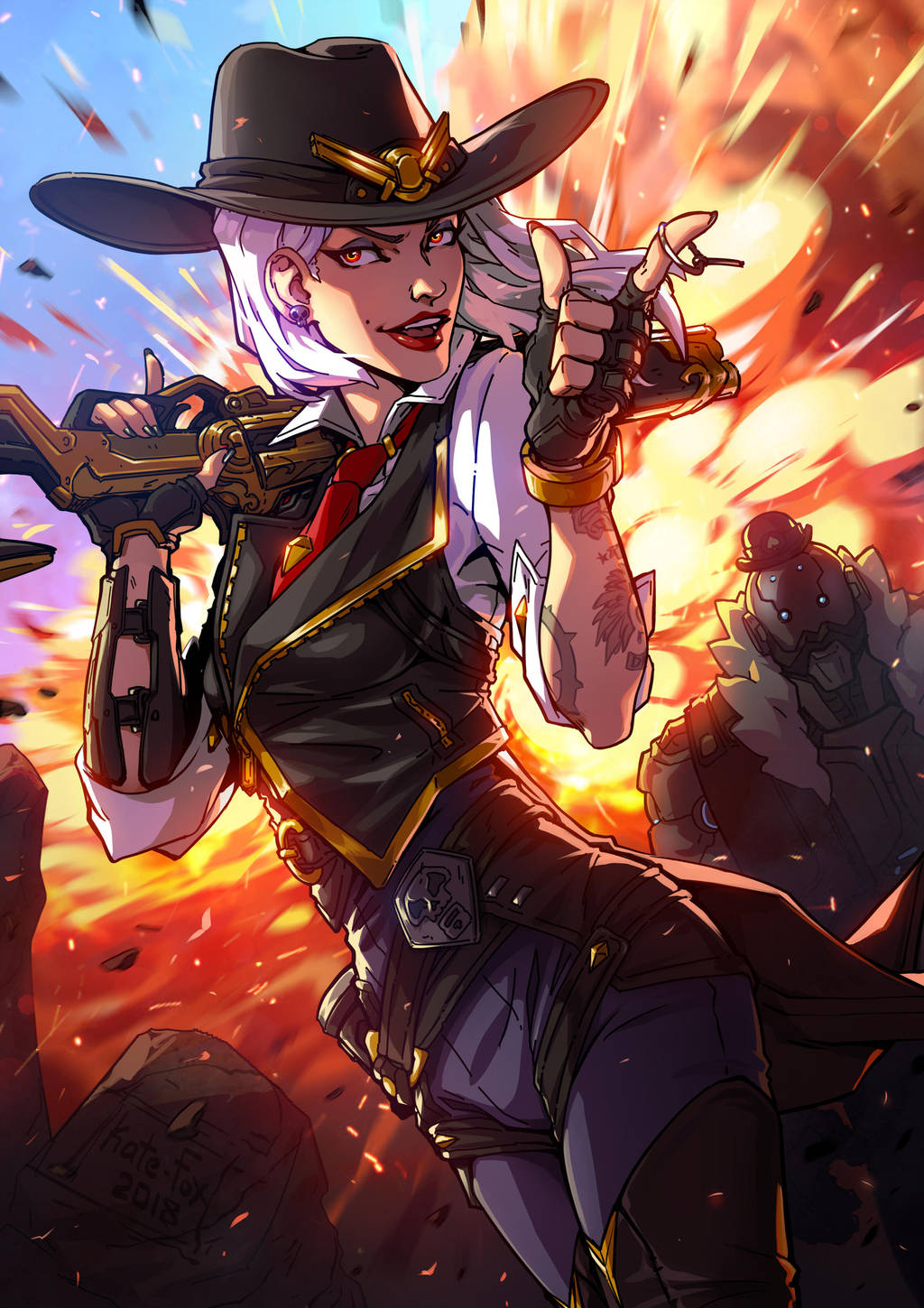 Ashe by Kate-FoX