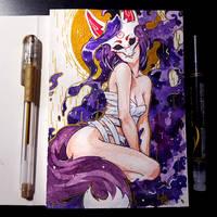 Watercolor Trix by Kate-FoX