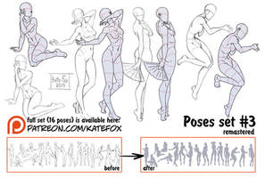 Pose study 3 REMASTERED by Kate-FoX