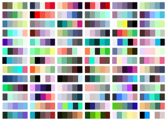 Free Color Palettes by SapphireSquire