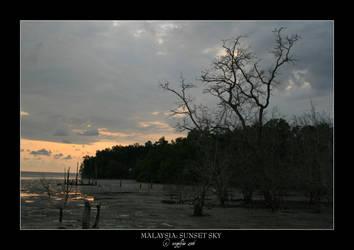Malaysia.4: Sunset Sky by Angelfae