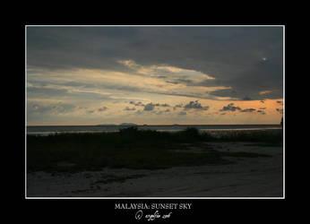 Malaysia.5: Sunset Sky 2 by Angelfae