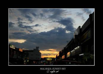 Malaysia.6: Sunset Sky 3 by Angelfae