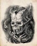 Medusa's child by AntarcticSpring