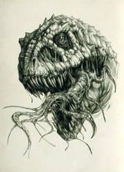 Necro T-Rex II by AntarcticSpring
