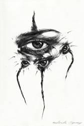 Black widow by AntarcticSpring