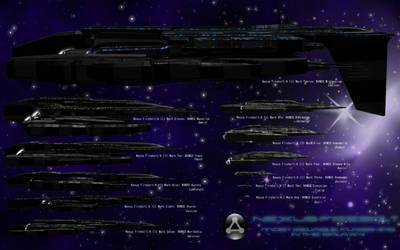Nexus-Firebolt-Class Flagships by M5000